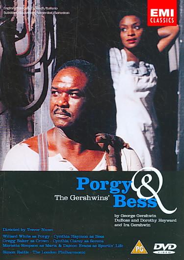 GERSHWIN:PORGY & BESS BY WHITE,WILLARD (DVD)