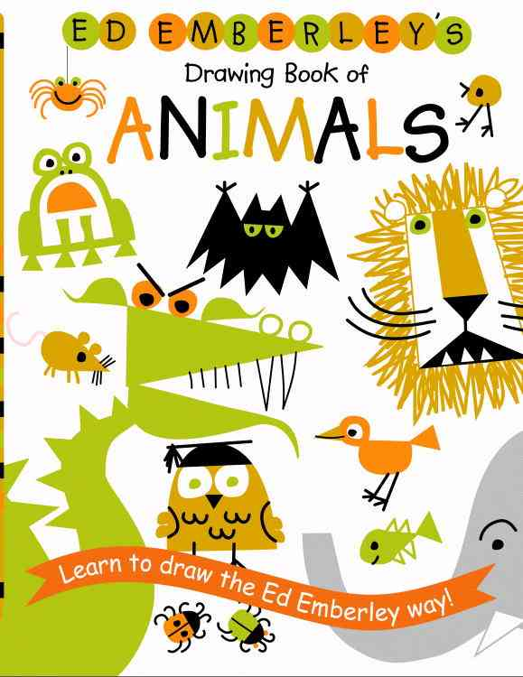Ed Emberley's Drawing Book of Animals By Emberley, Ed